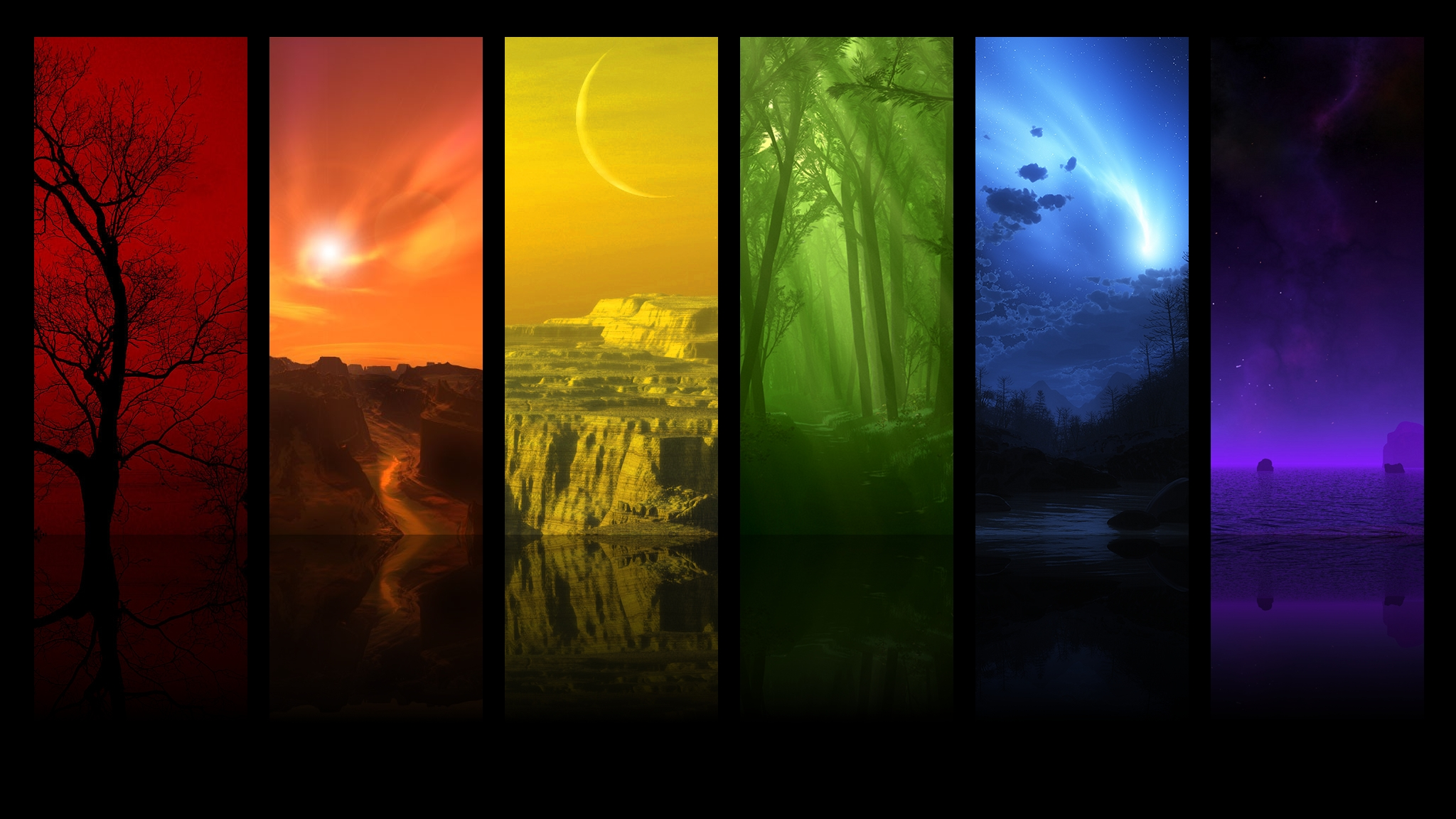 25 Colorful Hd Wallpapers To Light Up Your Display: Productivity Tactics: Applying The Eisenhower Method On